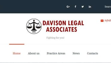 Davison Legal Updated Website